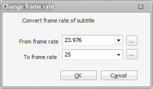 greenshot change frame rate