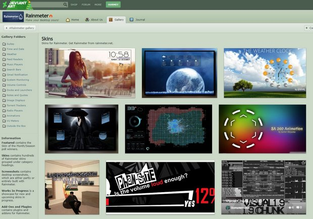 how to rainmeter deviantart
