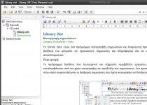 Library .Net